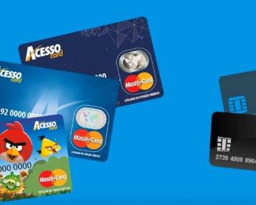 Cartão para negativado Acesso Card – solicitar Online