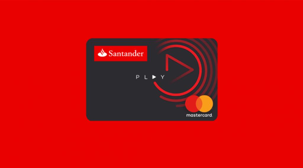 Cartão Play – o cartão do Santander sem comprovação de renda